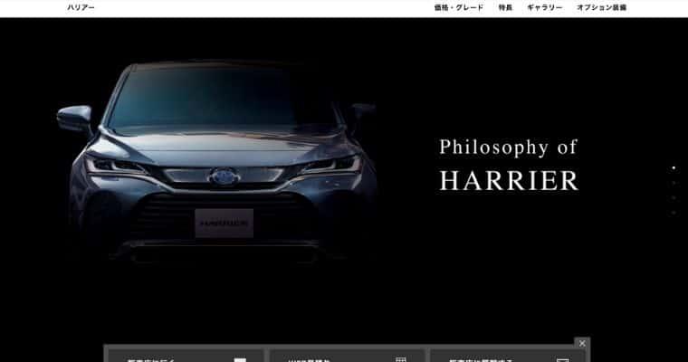 【トヨタ】ハリアーの基本情報